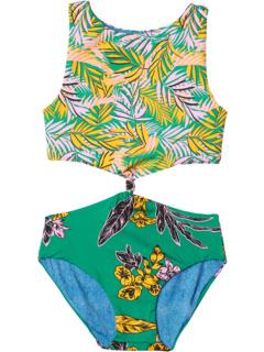 Слитный купальник Amazonia Twist (для маленьких / больших детей) Maaji Kids