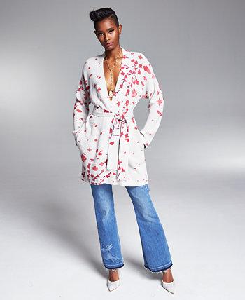 Свитер Misa Hylton с цветочным запахом, созданный для Macy's INC International Concepts