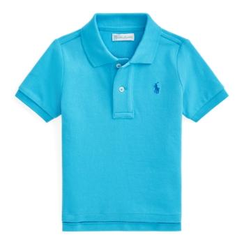 Рубашка-поло из хлопковой сетки Ralph Lauren