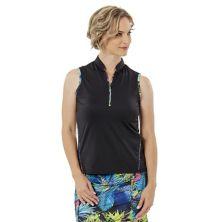 Женская футболка-поло большого размера Nancy Lopez Relax без рукавов Nancy Lopez Relax Nancy Lopez