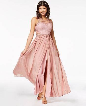 Юбилейное платье с тюльпанами City Studios