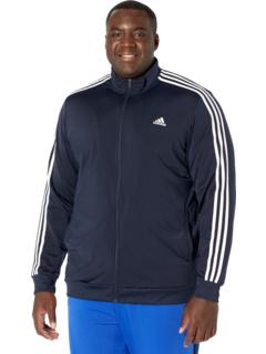 Трехслойная трикотажная спортивная куртка Big & Tall Essentials Adidas