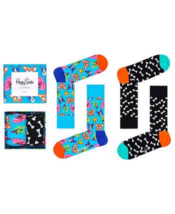 Подарочная коробка для женских носков, 2 шт. Happy Socks
