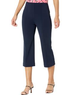 Hydrangea Lightweight Ponte Crop Pants Lysse