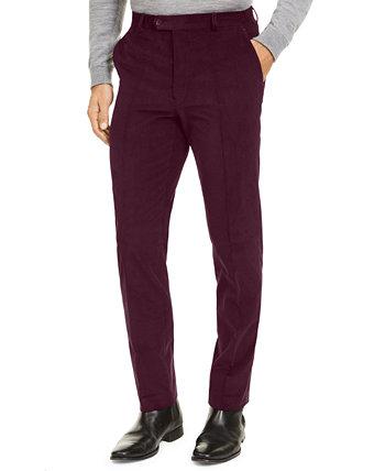 Мужские классические эластичные вельветовые брюки в классическом стиле Ralph Lauren