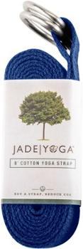 Хлопковый ремешок для йоги 8 футов Jade