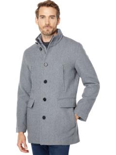 Пальто из шерстяного твила Cole Haan