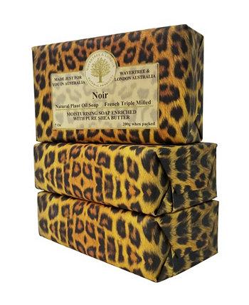 Мыло Noir, упаковка из 3 штук, каждая по 7 унций Wavertree & London
