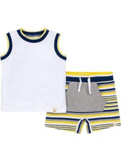 Комплект майки и шорт (младенец) Burt's Bees Baby