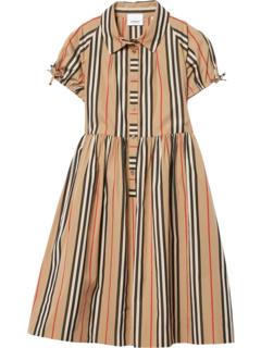 Платье в полоску Icon (для детей младшего и школьного возраста) Burberry Kids