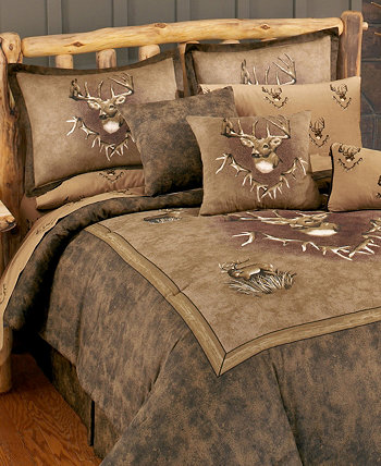 Двойное одеяло Blue Ridge Trading Whitetail Ridge Karin Maki