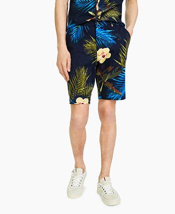 Мужские шорты с ярким цветочным принтом Paisley & Gray