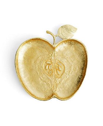 Золотая тарелка яблока MICHAEL ARAM