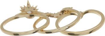 Наборные кольца Alexis CZ - размер 7 Melinda Maria