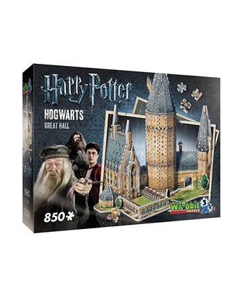 """Коллекция Гарри Поттера - Хогвартс - 3D головоломка """"Большой зал"""" - 850 штук Wrebbit"""