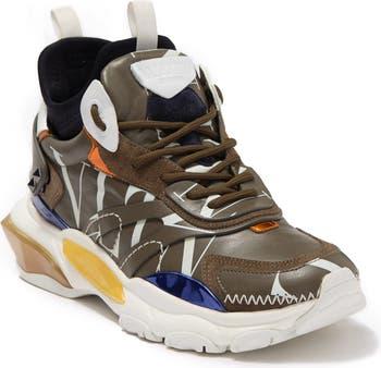 Кожаные модные кроссовки Valentino