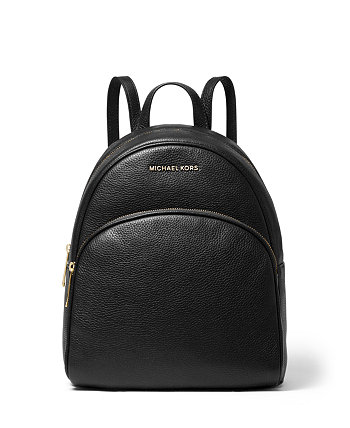 Abbey Medium Leather Backpack Michael Kors