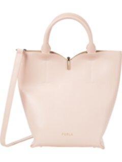 Маленькая сумка-ведро с лентой Furla