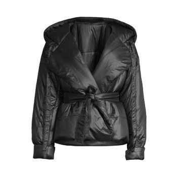 Короткое пальто-спальный мешок Norma Kamali