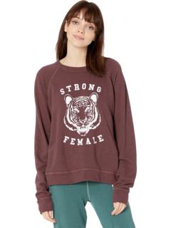 "Пуловер Smith ""Strong Female"" Good hYOUman"