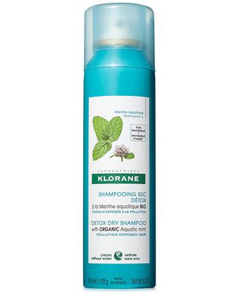 Сухой шампунь Detox с органической водной мятой, 3,2 унции. Klorane