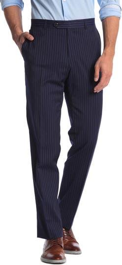 Приталенный костюм в тонкую полоску из смесовой шерсти Отдельные брюки Tommy Hilfiger
