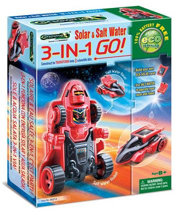 Солнечная соленая вода Greenex 3-в-1 Tedco Toys