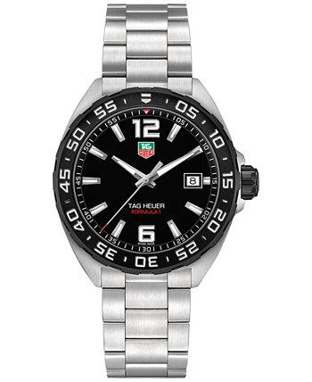 Мужские часы с браслетом из нержавеющей стали Swiss Formula 1 41 мм TAG Heuer