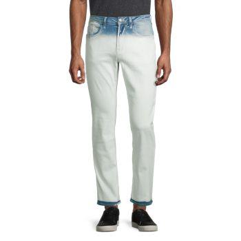 Узкие стрейч-джинсы с эффектом окунуться Ash-X Buffalo David Bitton
