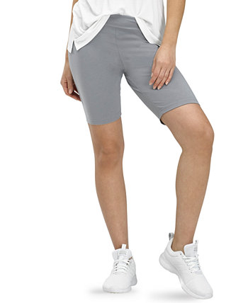 Essentials High-Rise Bike Shorts HUE