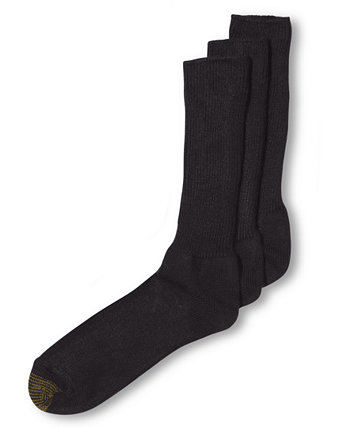 ADC Пушистые акриловые 3 носка для мужчин Gold Toe