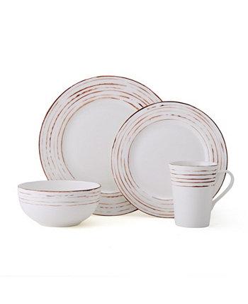 Набор столовой посуды Delray Antiqued из 16 предметов, сервиз на 4 персоны MIKASA