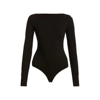 Sylvi Long-Sleeve Bodysuit AGOLDE