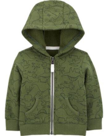Флисовая куртка с застежкой-молнией и застежкой на молнии Carter's Carters