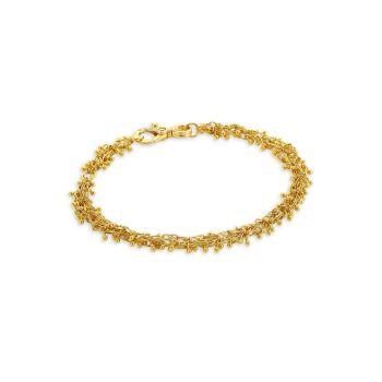 Браслет Bouclé из желтого золота 24 карат Gurhan