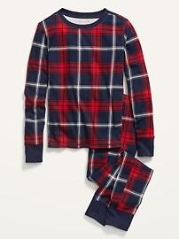 Облегающие пижамы в клетку для детей с нейтральным гендерным подходом Old Navy