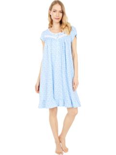 Ночная рубашка с короткими рукавами 38 дюймов Eileen West