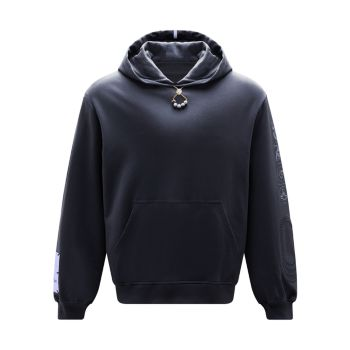 Embellished Cotton Hoodie McQ