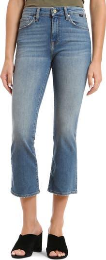 Джинсы Укороченные расклешенные джинсы Anika с высокой талией Mavi