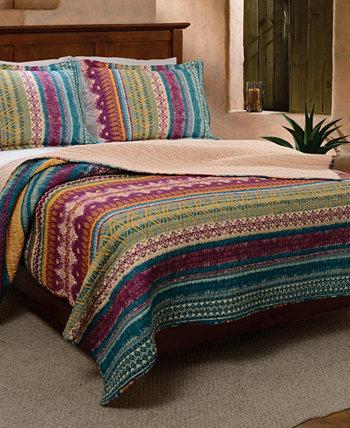 Комплект одеяла Southwest, двухкомпонентный твин Greenland Home Fashions