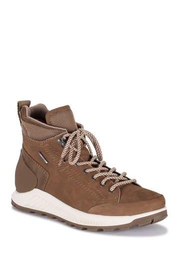 Водонепроницаемые кожаные ботинки на шнуровке Charles Baretraps