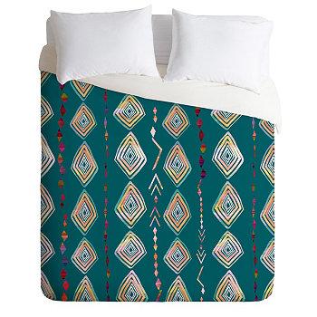 Ивета Аболина, Марокко On My Mind, комплект пододеяльников с двумя односпальными кроватями Deny Designs