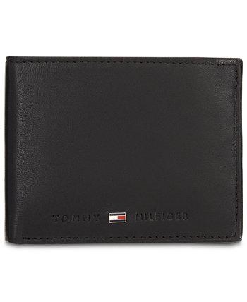 Мужской кожаный кошелек Brax Tommy Hilfiger