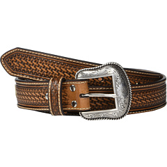 Ремень из тисненой ткани Nocona с шнуровкой из сыромятной кожи M&F Western