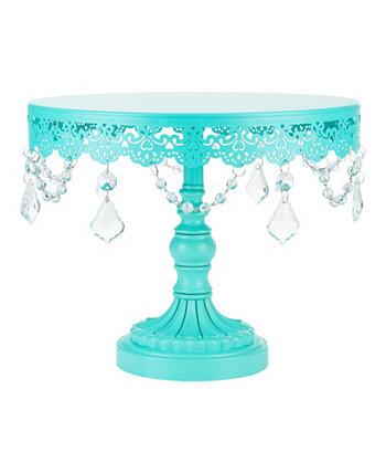 Подставка для торта Sophia 10 дюймов, украшенная кристаллами Amalfi