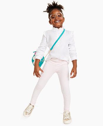 Однотонные трикотажные леггинсы для девочек для малышей, созданные для Macy's Epic Threads