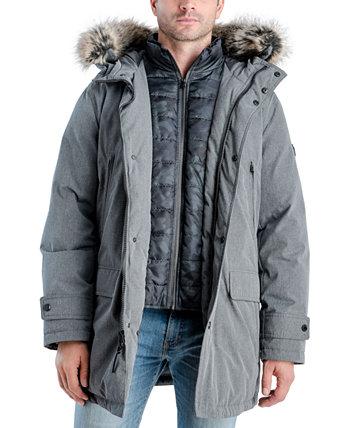 Мужское пальто с длинным рукавом и капюшоном от Kors, созданное для Macy's Michael Kors