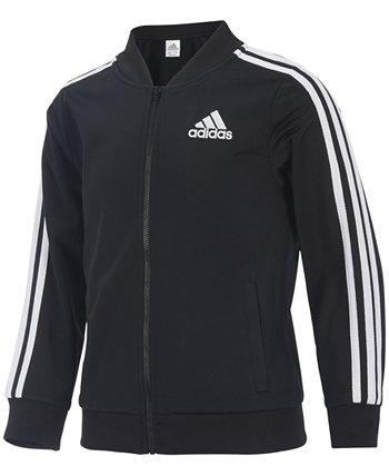 Трикотажная куртка Big Girls Adidas