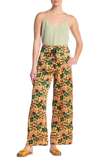 Укороченные широкие брюки с принтом Scotch & Soda