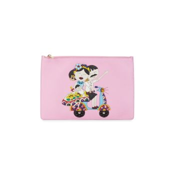 DG Family Leather Pouch DOLCE&GABBANA